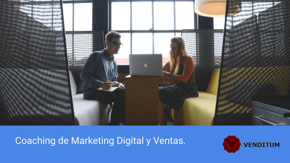 Coaching de Marketing Digital y Ventas